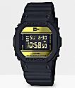 G-Shock x New ERA DW5600 Black & Gold Digital Watch
