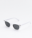 Georgetown gafas de sol blancas de ojo de gato