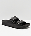 Gigi Antiks 2 Black Strap Sandals