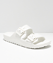 Gigi Antiks 2 White Strap Sandals