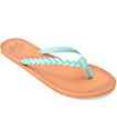 Gigi Butterfly sandalias azules