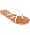 Gigi Star sandalias blancas