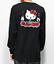 Girl x Hello Kitty 45th Anniversary Black Long Sleeve T-Shirt
