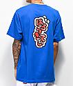 Girl x Hello Kitty 45th Anniversary Push Blue T-Shirt