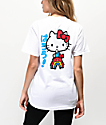 Girl x Hello Kitty 45th Anniversary Rainbow & White T-Shirt
