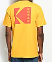 Girl x Kodak Exposure camiseta en color amarillo