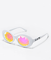 GloFX Clout Kaleidoscope White Glasses