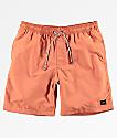 Globe Dana V Coral Elastic Waist Board Shorts