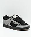 Globe Fusion Drizzle zapatos de skate en negro y gris