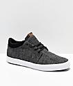 Globe GS Chukka zapatos skate de cambray negro