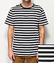Globe Moonshine Green Stripe T-Shirt