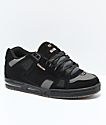 Globe Sabre Black, Charcoal & Woodsmoke Skate Shoes
