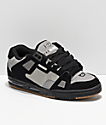 Globe Sabre Black, Grey & Gum Skate Shoes