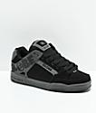 Globe Tilt zapatos de skate de nubuck en negro y carbón