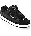 Globe Tilt zapatos de skate en blanco y negro