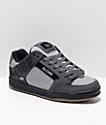 Globe Tilt zapatos de skate en gris, color carbón y negro