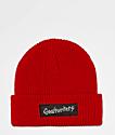Gnarhunters gorro rojo con logotipo grande