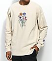 Gnarly Bouquet Sand Long Sleeve T-Shirt