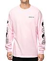 Gnarly Tubular Pink Long Sleeve T-Shirt