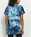 Gnarly World Blue Tie Dye T-Shirt