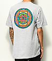 Gnarly x Roots Gear Tribe camiseta gris
