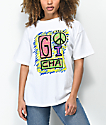 Gotcha Peace White T-Shirt