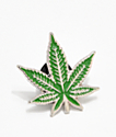 Green Leaf Pin
