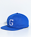 Grizzly Coliseum Blue Strapback Hat