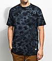Grizzly Cursive camiseta negra bordada