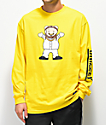 Grizzly Lil M camiseta de manga larga amarilla