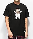 Grizzly Lil M camiseta negra