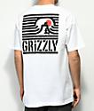 Grizzly Long Daze White T-Shirt