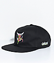 Grizzly Venom Black Snapback Hat