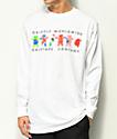 Grizzly Worldwide Tribe camiseta blanca de manga larga