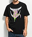 Grizzly X Marvels Venom Grin Black T-Shirt