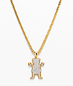 """Grizzly X The Gold Gods OG Ice 26"""" Gold Chain Necklace"""