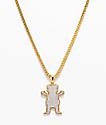 """Grizzly X The Gold Gods OG Ice 26"""" collar de cadena de oro"""