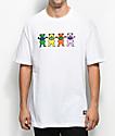 Grizzly x Grateful Dead Big Happy Family camiseta blanca
