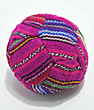 Guatamalart Multicolored Pink Hacky Sack