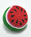 Guatamalart Watermelon Crochet Hacky Sack