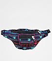 Guatemalart Blanket Stripe riñonera azul a rayas
