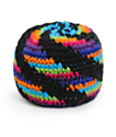 Guatemalart Neon Spiral Hacky Sack