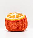 Guatemalart Orange Crochet Hacky Sack