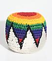 Guatemalart hacky sack multicolor y blanco