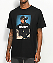 HSTRY Portrait Black T-Shirt