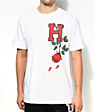HSTRY Roses White T-Shirt