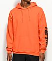 HSTRY Writing Orange Hoodie