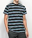 HUF 1993 Black Stripe Knit T-Shirt