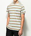 HUF 1993 camiseta de punto a rayas azules