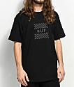 HUF Blackout Check Box Black T-Shirt